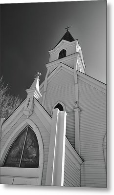 Kirche Der St Walburga Metal Print by Guy Whiteley