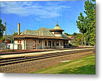 Kirkwood Station Metal Print by Marty Koch