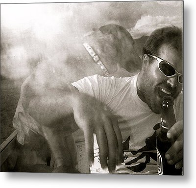 Kirt And Kuda Metal Print by Kim Pippinger