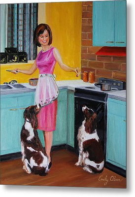 Kitchen Companions Metal Print