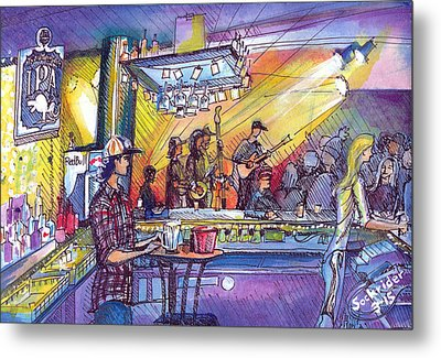 Kitchen Dwellers  Metal Print
