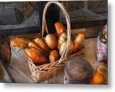 Kitchen - Food - Bread - Fresh Bread  Metal Print by Mike Savad