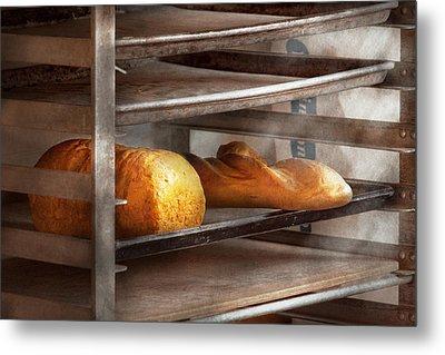 Kitchen - Food - Bread - Freshly Baked Bread  Metal Print by Mike Savad