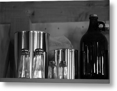 Kitchen  Metal Print by Harold E McCray