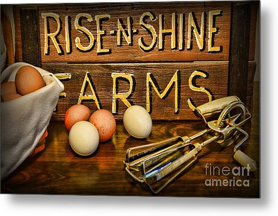Kitchen  Rise And Shine Metal Print by Paul Ward