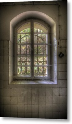 Kitchen Window Metal Print by Nathan Wright