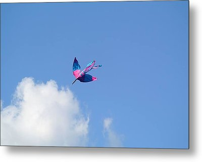 Metal Print featuring the photograph Kite At The Fort  by Toni Martsoukos