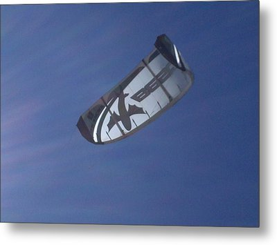 Kite Surfing 2 Metal Print by Heather L Wright