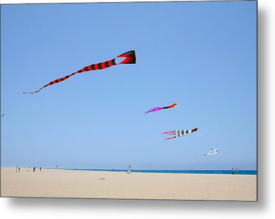 Kites Over Cabo Metal Print