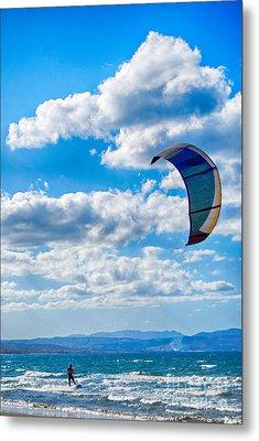 Kitesurfer Metal Print