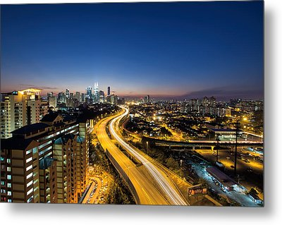 Kl At Blue Hour Metal Print by David Gn