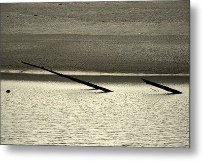 Klamath River Mouth - A Bliss Place Metal Print by Christine Till