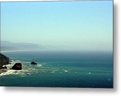 Klamath River Outlet Metal Print