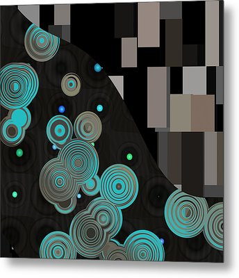 Klimtolli - 11 Metal Print by Variance Collections