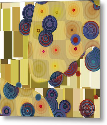 Klimtolli - 22 Metal Print by Variance Collections