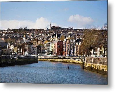 Kneeling Canoe, River Lee, Cork City Metal Print by Panoramic Images
