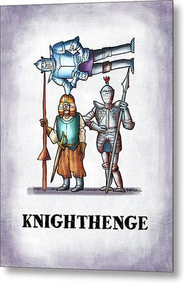 Knighthenge Metal Print by Mark Armstrong