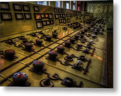 Knobs Metal Print by Nathan Wright
