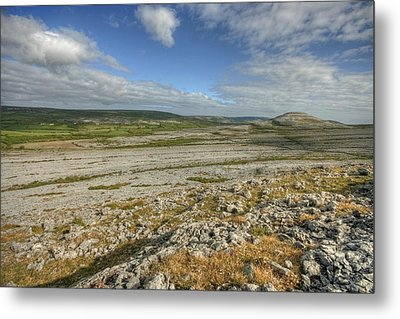 Knockanes Mountain Metal Print by John Quinn