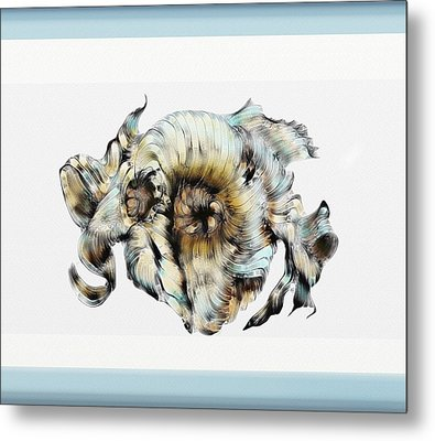 Knotted Thoughts Metal Print