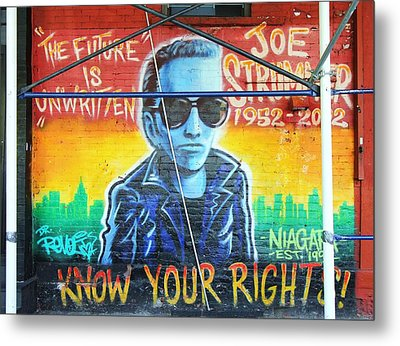 Know Your Rights Metal Print