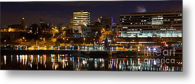 Knoxville Waterfront Metal Print by Douglas Stucky