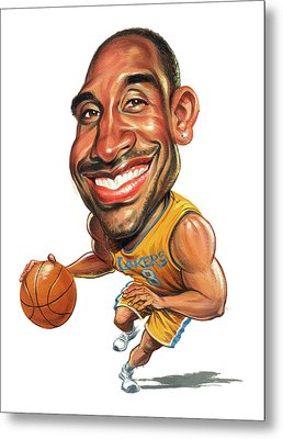 Kobe Bryant Metal Print by Art