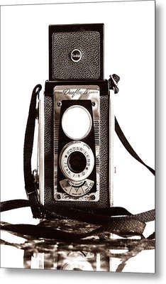 Kodak Duaflex Iv Camera Metal Print by Jon Woodhams