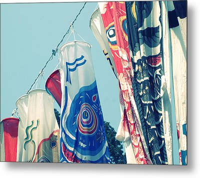Koinobori Flags Metal Print