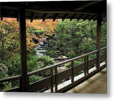 Kokoen Garden - Himeji City Japan Metal Print by Daniel Hagerman