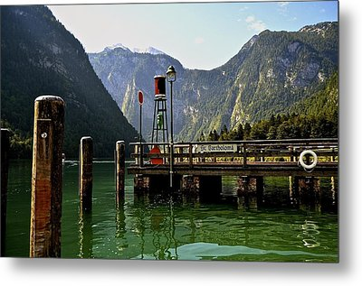 Konigssee Germany Metal Print by Marty  Cobcroft