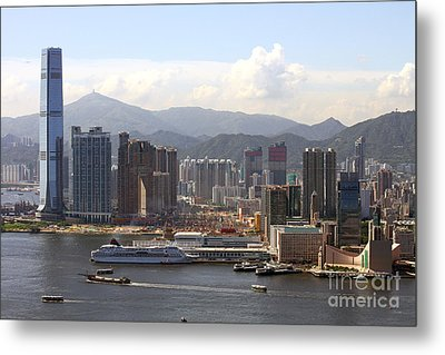 Kowloon In Hong Kong Metal Print by Lars Ruecker