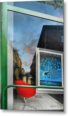 Krakow Reflections Metal Print