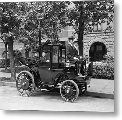 Krieger Electric Carriage Metal Print