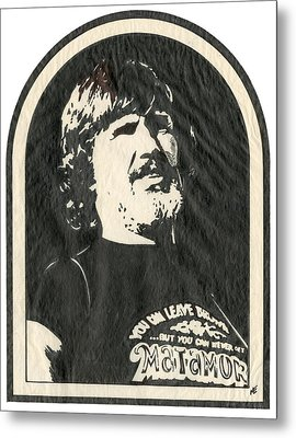 kris Kristofferson Metal Print by Marsha Elliott