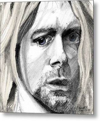 Kurt Metal Print by Michele Engling