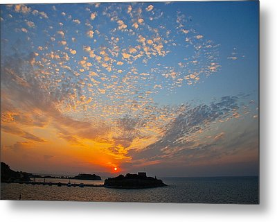 Kusadasi Sunset Metal Print by Eric Tressler