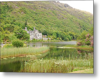 Metal Print featuring the photograph Kylemore Abbey 1 by Mary Carol Story