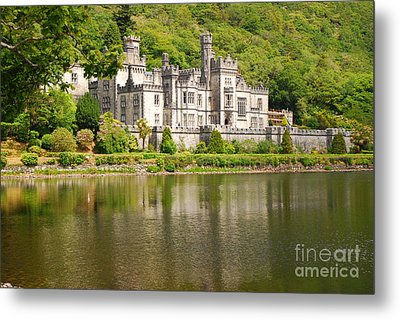 Metal Print featuring the photograph Kylemore Abbey 2 by Mary Carol Story
