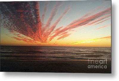 Kyra's Sunset Metal Print