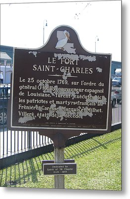 La-013 Le Fort Saint-charles Metal Print by Jason O Watson