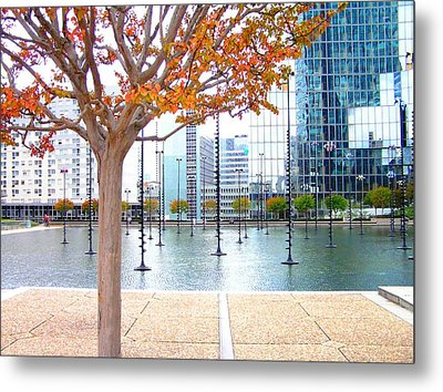 La Defense Metal Print