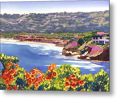 La Jolla Beach And Tennis Club Metal Print by Mary Helmreich