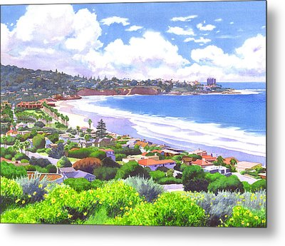 La Jolla California Metal Print by Mary Helmreich