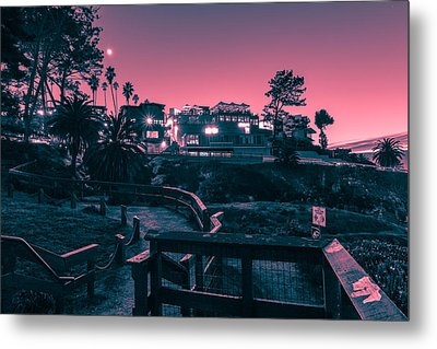 Metal Print featuring the photograph La Jolla Cove by Sonny Marcyan