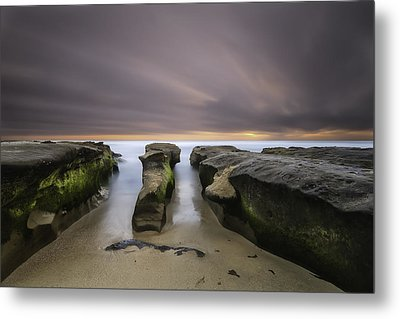 La Jolla Reef Metal Print by Larry Marshall