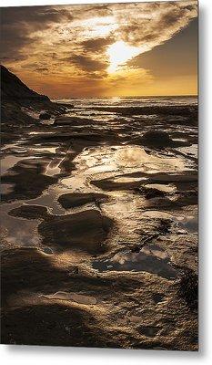 La Jolla Sunset 3 Metal Print by Lee Kirchhevel