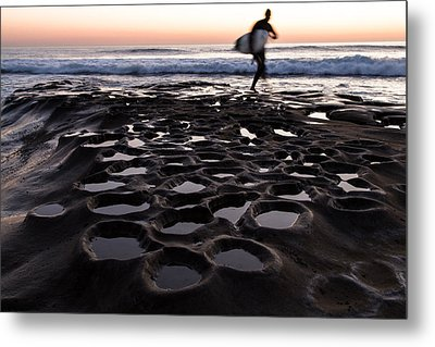 La Jolla Surf Session Part 2 Metal Print