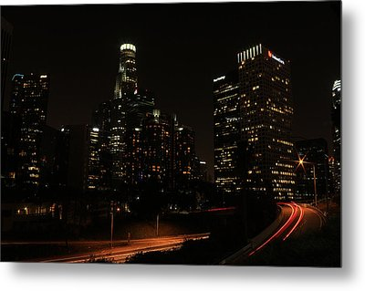 LA Metal Print by Kevin Ashley