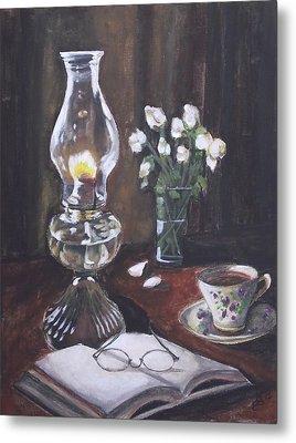 La Lampe Metal Print